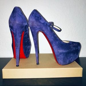 💜OPEN TO OFFERS💜Lady Daf 160 Purple Suede Pumps